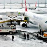 Turkish Airlines потеряли 100 миллионов лир из-за снега
